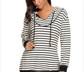 New Stripe Women Lon..